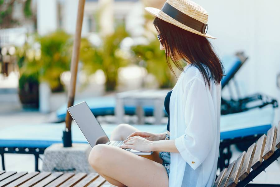 Work remotely from a Villa in Ibiza
