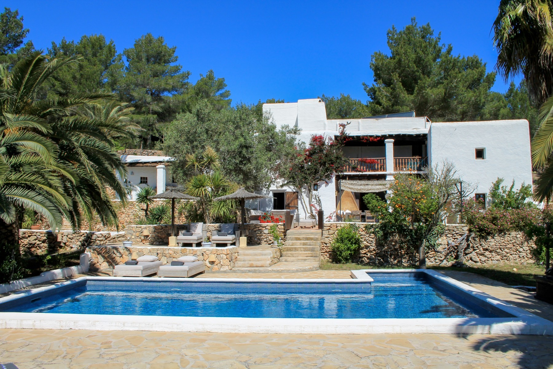 villa for 18 people in Ibiza